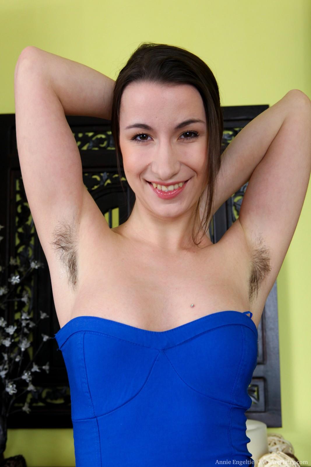 Annie Engletie Hairy Pits